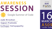 GSoC Awareness Session - SLIIT FOSS Community