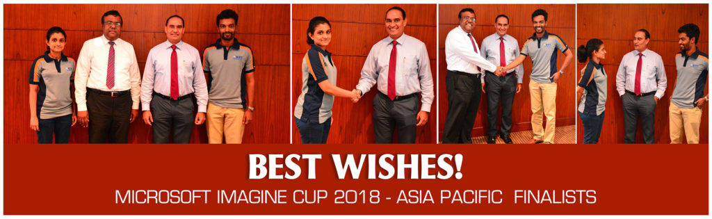 SLIIT secures two winning spots in the South East Asia Imagine Cup 2018